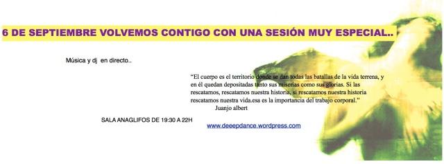 vuelven nuestras sesiones en Barcelona